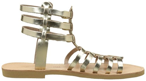 THELUTO Antonia, Sandales Bride Cheville Femme Or (Or)