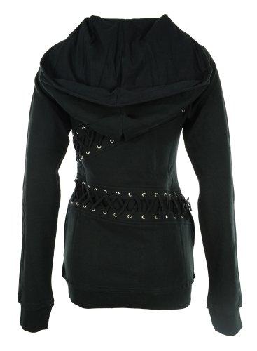 Cupcake cULT mISS cULT veste à capuche pour homme Noir - Noir
