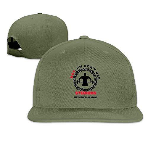 Zhgrong Caps Gym Lover Men Hip Hop Hats Flat Bill Brim Kappen mesh Cap