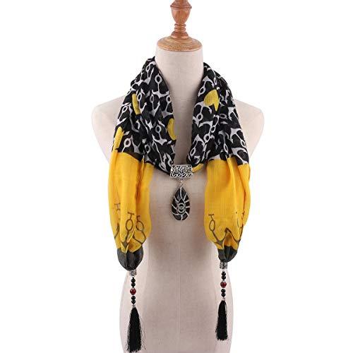 TDPYT National Style Schal Schal Halsketten Halsketten Schals Kostüme Zubehör 1840 1.180Cm