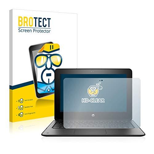 BROTECT Schutzfolie kompatibel mit HP ProBook x360 11 G1 EE - klarer Bildschirmschutz