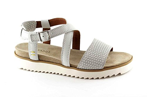 BENVADO GINGER 36004004 bianco sandali donna pelle cinturino platform Bianco
