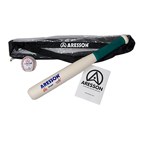 Aresson Rounders Image Bat and Softy Ball PK Test