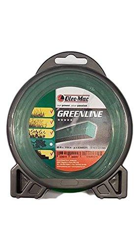 Hilo Desbrozadora Greenline Original Emak–Efco–oleomac cuadrado 3,0mm, 15Mt
