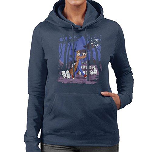 Doctor Who Pied Piper Hamelin Women's Hooded Sweatshirt Navy Blue