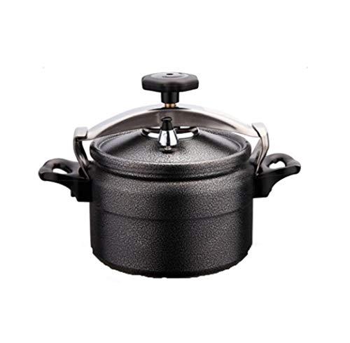 GHGJU Schnellkochtopf Camping Pot Outdoor-Schnellkochtopf Schnellkochtopf Küche Gasherd Schnellkochtopf kann in der Küche Hotel Restaurant verwendet Werden (Color : Black, Size : 4L)