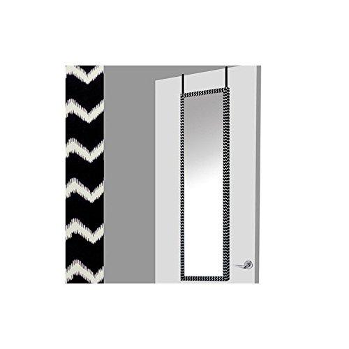Espejo-para-puerta-negroblanco-zigzag-37x2x128