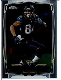 2014 Topps Mini Chrome American Football Card #2 Cecil Shorts - Jacksonville Jaguars