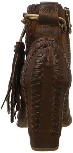 A.S.98 Ironia, Scarpe con cinturino Donna Braun (Castagna/Castagna/Ossido/choco)