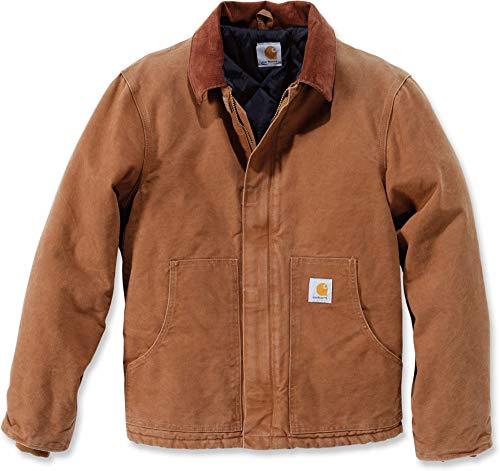 Carhartt .Ej022.211.s005 Sandstone Traditional Jacket, Medium, Brown