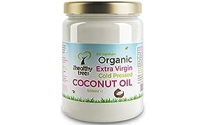 TheHealthyTree Company Olio di Cocco Bio Extra Vergine - 500ml