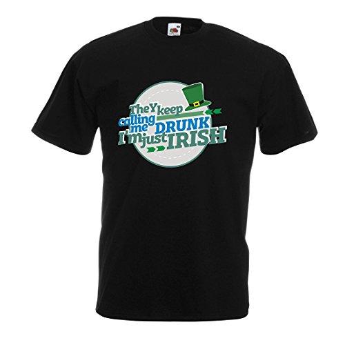Camisetas Hombre Solo Soy irlandés: Ropa Divertida