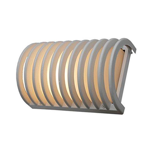 GKJ Extérieur étanche à la poussière lampe de mur, lampe murale créative lampe de mur intérieur simple imperméable à l'humidité lampe de mur ingénierie éclairage seule tête E27, 26 * 18 * 12.7cm ( taille : 26*18*12.7CM )