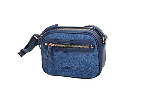 Andie-Borsa a tracolla, colore: blu DENIM, collezione ZUJJ A8154 Blu (blu)