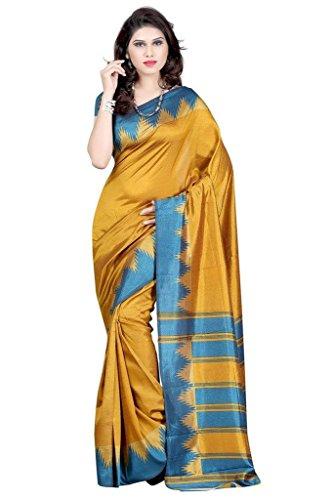 VINTAGE Girls cotton saree(VINTAGE O14_multi colour_Freesize)