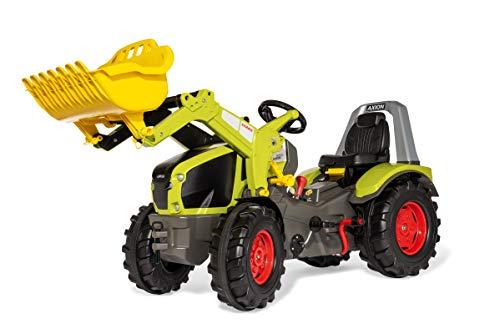 Rolly Toys Trettraktor rollyX-Trac Premium Claas Axion 960 (für Kinder von 3-10 Jahre, Gangschaltung, Flüsterreifen) 651122