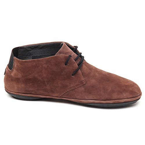 Camper D9956 (Without Box) Scarpa Donna Brown Right Suede Shoe Woman Marrone chiaro