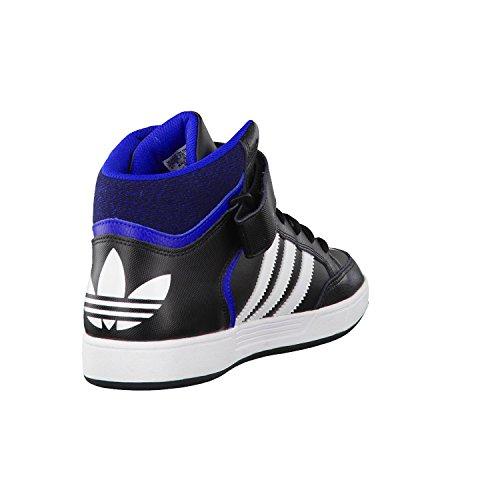 adidas Varial Mid, Scarpe da Skateboard Unisex – Adulto, Nero Nero (Negbas / Ftwbla / Reauni)