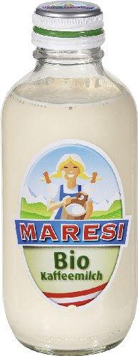 15x Maresi - Bio-Kaffeemilch, ungezuckert, gentechnikfrei - 250g