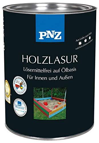 PNZ-Holz Lasur lösemittelfrei (2,5 L, Nr. 02 weiß)