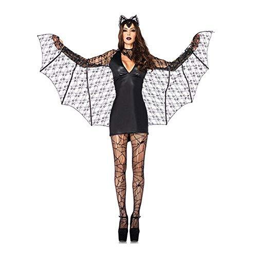 Fashion-Cos1 Schwarz Sexy Weibliche Batman Cos Halloween Make-up Ballspiel Kostüm Vampir Uniform Cosplay