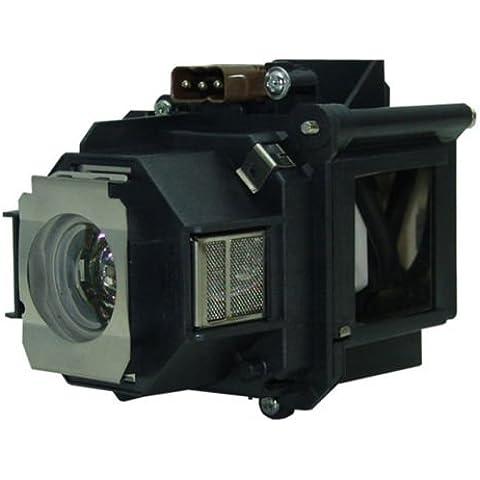 Lampada luminosa Lampada Alloggiamento per Epson EP V13H010L46Proiettore DLP LCD