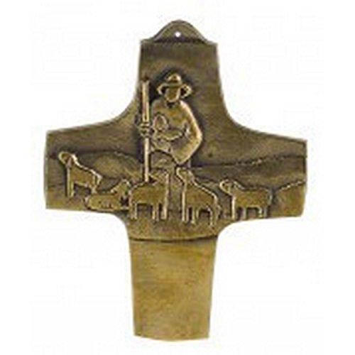 MaMeMi Symbolkreuz Der Herr ist mein Hirte aus Bronze von Peters, Jürgen