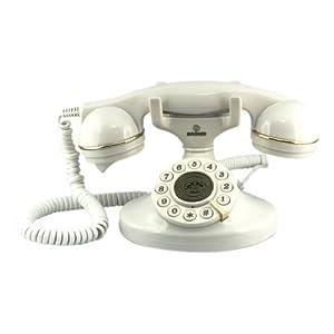Brondi Vintage 10 Telefono Fisso, Bianco