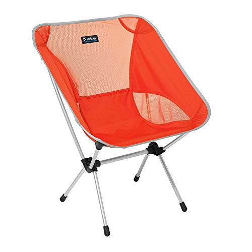 Helinox Chair One L,Campingstuhl,Faltstuhl,Aluminium,leicht,stabil,faltbar,inkl Tragetasche,Crimson,one Size