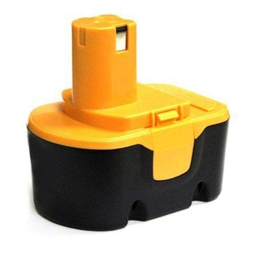 bateria - SODIAL(R)Reemplazo de fuente de bateria de herramientas para RYOBI 14,4 V, RY62, RY 6200, RY 6201, RY 6202, 130 224 010, etc negro y amarillo