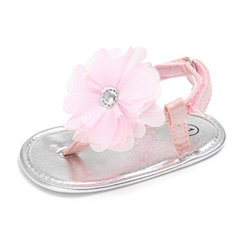 BZLine® Baby Blume Sandals Closed Sandals Summer Beach Sandalen Pink
