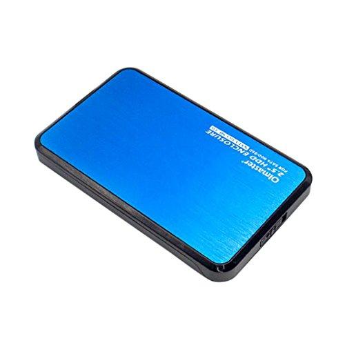 perfk USB 3.0 Boîtier Externe Huat Vitesse pour Disque Dur Externe...