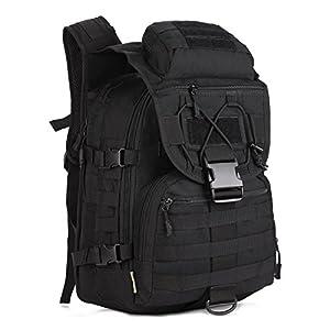 41PUGbnTc9L. SS300  - Huntvp 40L Tactical Military Backpack Large Molle Rucksck Assault Pack Bag for Camping Hiking Hunting Trekking