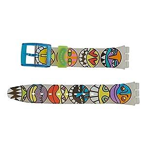 "Swatch Armband 17mm ""POP BONES"" AGK230"
