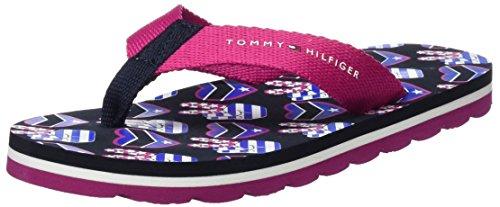 Tommy Hilfiger Mädchen M3285arlow 8d1 Sandalen, Pink