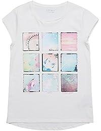 Esprit Kids Fina, T-Shirt Fille, Off White 110