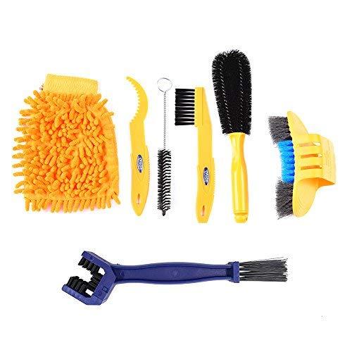 SehrGo Limpiador de Bicicletas Cepillo limpiador de dientes de bicicleta, Cadena de Bici Herramienta Profesional de Limpieza para Todos los Modelos de Bicicletas