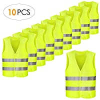 femor 10/50 pieces safety vests