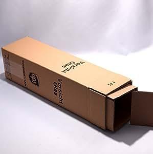 10 Versandkartons für 1 Flasche (Umkarton, Hülse, 1 Deckel