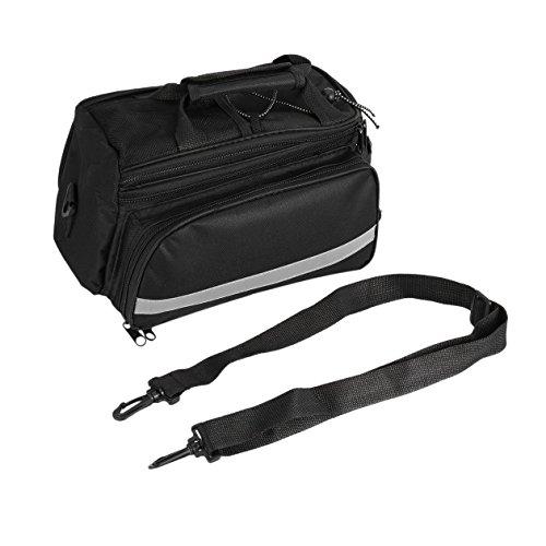 Radfahren Fahrrad Bike Pannier Rear Seat Bag Rack Trunk Griff Handtasche Lagerung brandbrand