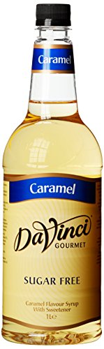DaVinci Gourmet Sugar Free Caramel Syrup Pet, 1er Pack (1 x 1 l)
