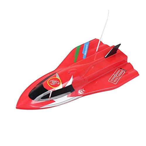 Likeluk CT3362 Ferngesteuertes Speedboot High Speedboot Fernbedienung Spielzeug für Kinder
