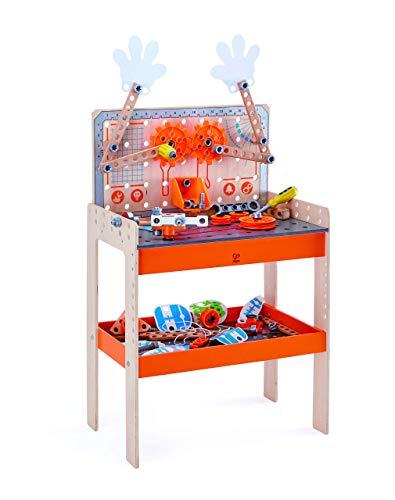Hape E3027 - Tüftler Werkbank, Mint-Spielzeug, Junior Inventor