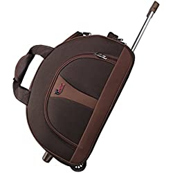 """F Gear Cooter 22"""" Polyester 61 Ltrs Brown Travel Duffle (2389)"""