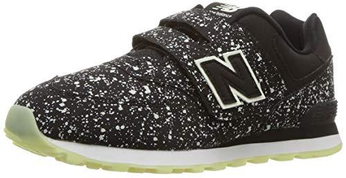 New Balance Sportschuhe mit Klettverschluss Modell 574 YV574KB Schwarz Größe: 28,5 (1 Boys-größe Von Balance Schuhe New)