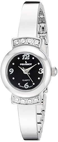 Peugeot Womens Analog-Quartz Watch with Alloy Strap 7092SBK