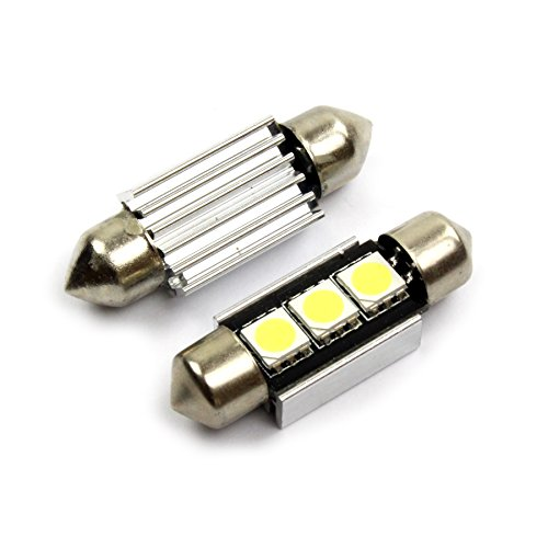 inion® Illuminazione Targa Xenon Bianco 2X 36mm C5W 3SMD LED/Freddo–Bianco * * Canbus Luce targa auto lampadina soffite
