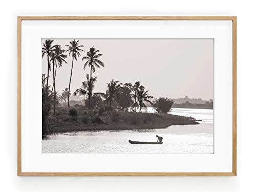 Póster Enmarcado lago Togo-Marco 30x 40cm
