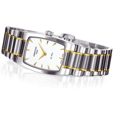 Certina Damen-Armbanduhr XS Analog Quarz Edelstahl C012.109.22.031.00