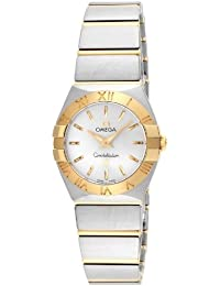 Omega Constellation Brushed Quartz 123.20.24.60.02.002